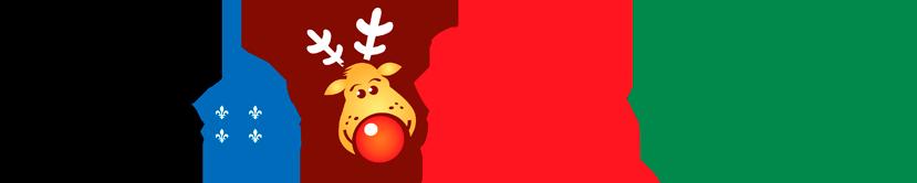 Logo SAAQ, Opération Nez rouge et Desjardins
